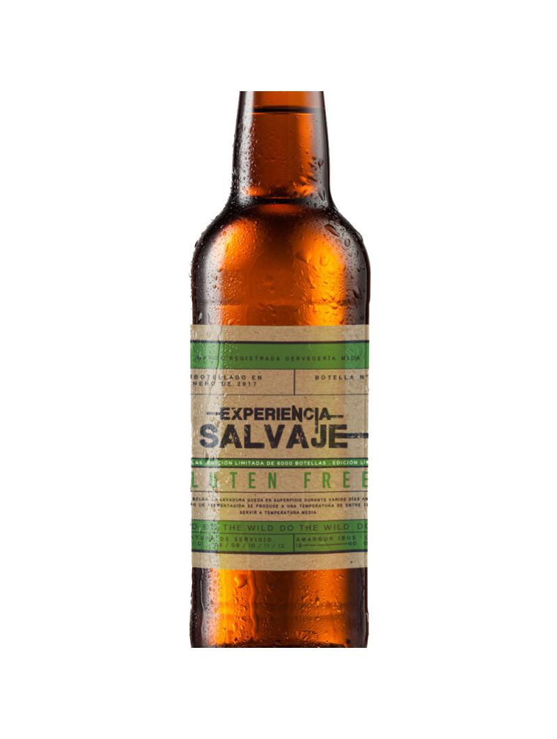 Experiencia Salvaje Cerveza Sin Gluten comprar en TiendaGrupoLaNavarra.com