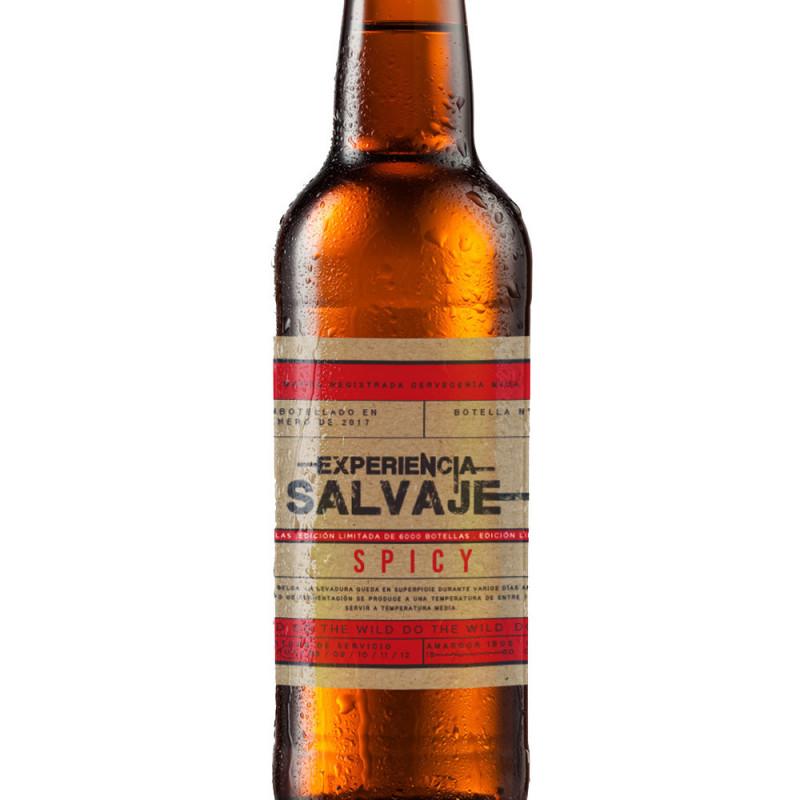 Experiencia Salvaje Cerveza Picante comprar en TiendaGrupoLaNavarra.com