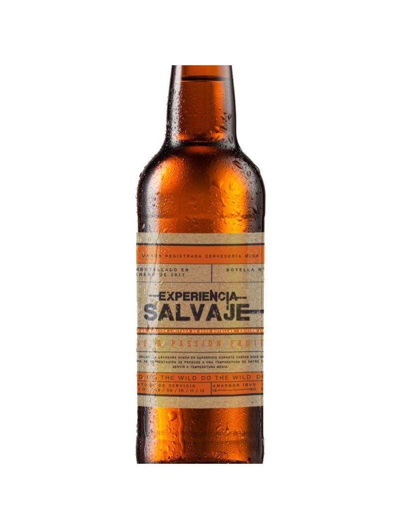 Experiencia Salvaje Cerveza Orange & Passion Fruit comprar en