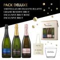 Pack deluxe Champagne - Estuche de 3 comprar en TiendaGrupoLaNavarra.com